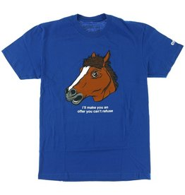 Enjoi Enjoi- Horse Head- Royal Blue- T-Shirt