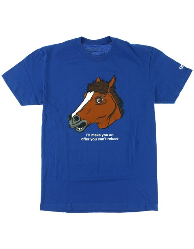 Enjoi Enjoi- Horse Head- Royal Blue- T-Shirt