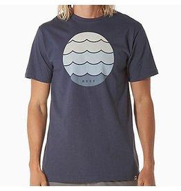 Reef Reef- Meter- T-Shirt- Indigo