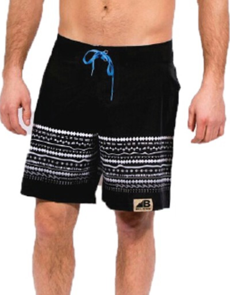 Belong Designs Belong- No Worries- Black- Boardshorts