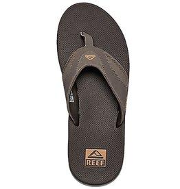 Reef Reef- Fanning- Men's Flip Flop- Brown and Gum Sole