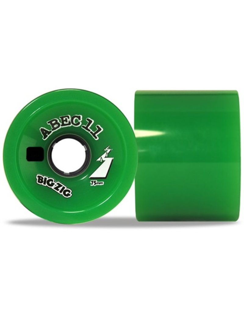 ABEC 11 ABEC 11- Big Zig- Wheel- 75mm, Green, 81a