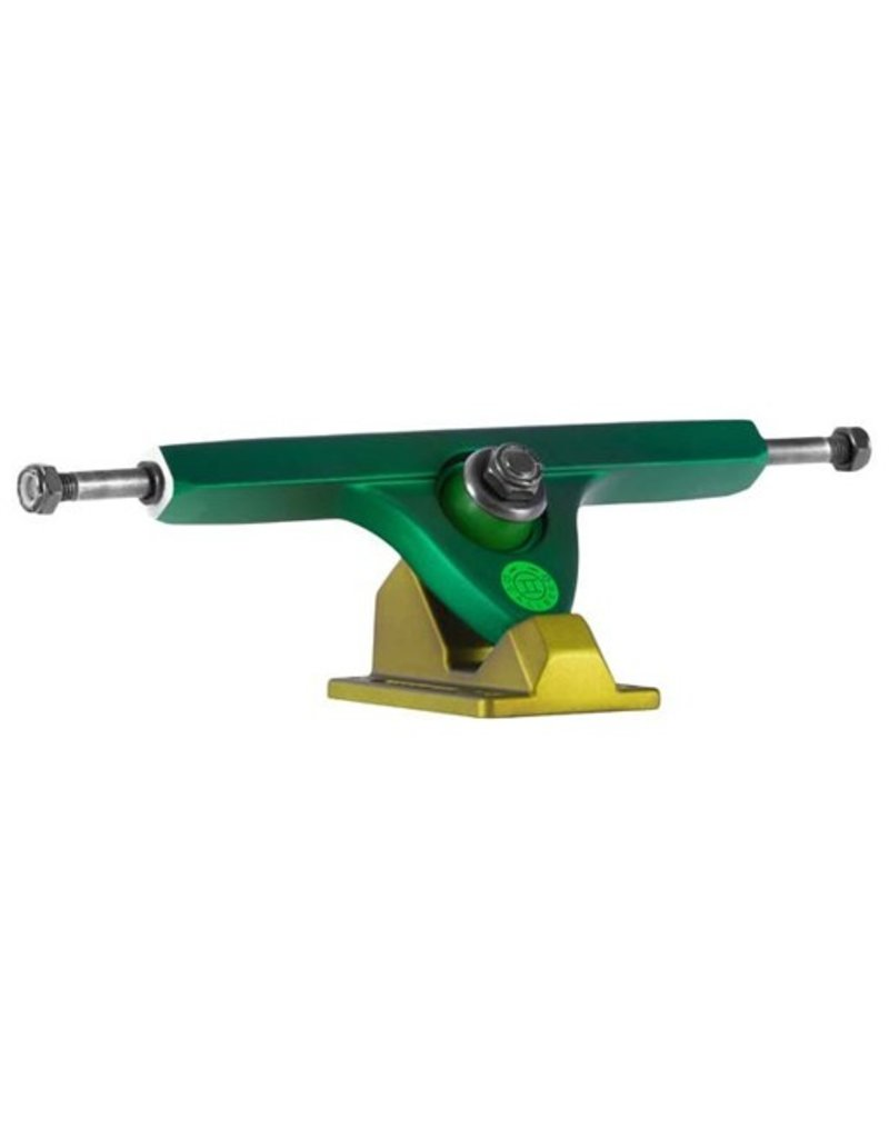 Caliber Caliber- Caliber II- RKP- 50 deg- Two Tone Green- 10 inch Axle- Trucks
