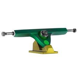 Caliber Caliber- Caliber II- RKP- 44 deg- Two Tone Green- 10 inch Axle- Trucks