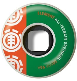 Element Element- Section- 50mm- 95a- White with Green and Orange- Wheels