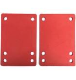 BOARDLife BOARDLife- Shock Pad- Red- Soft- 1/8 inch- Riser