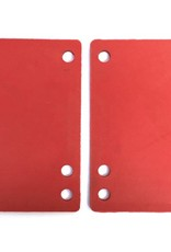 BOARDLife BOARDLife- Shock Pad- Soft- Red- 1/8 inch- Set of 2- Riser