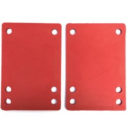 BOARDLife BOARDLife- Shock Pad- Soft- Red- 1/8 inch- Set of 2- Riser