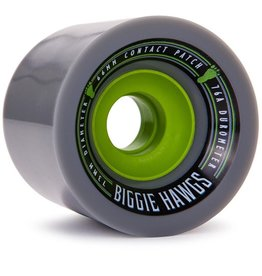 Landyachtz Landyachtz- Bigger Biggie Hawgs- 73mm- 76a- Grey- Wheels