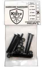 Khiro Khiro- Flat Head Hardware- 2 inch- Phillips Head