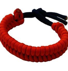 Olguin Designs- Paracord Bracelet- Orange & Blue- OSFA