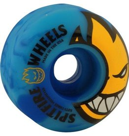 Spit Fire Spitfire- Bighead Code- 53mm- 99a- Blue Swirl- Wheels