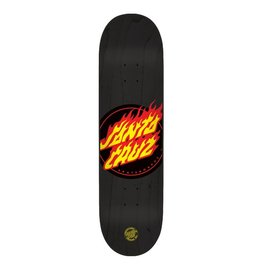Santa Cruz Santa Cruz Skate- Flame Dot Team- 32.3 inches- 8.6- 2015- Deck