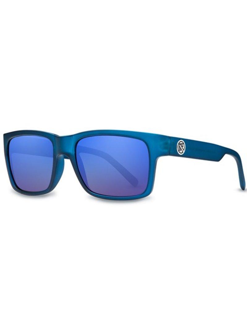Filtrate Filtrate Eyewear- John Brown- Blue Frost with Blue Mirror lens