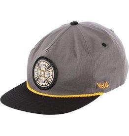 Independent Independent- Volume 4 Snapback- Charcoal/Black- Hats