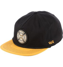 Independent Independent- Volume 4 Snapback- Black/Gold- Hats