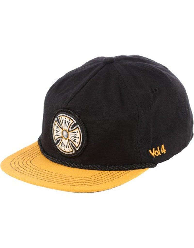 Independent Independent- Volume 4 Snapback- Black/Gold- Hats
