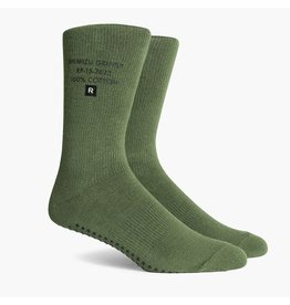 Richer Poorer Richer Poorer- Shimizu SS Athletic Crew- Green- Socks