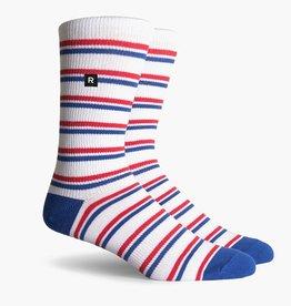 Richer Poorer Richer Poorer- Pastras SS Athletic Crew- Red/White/Blue- Socks