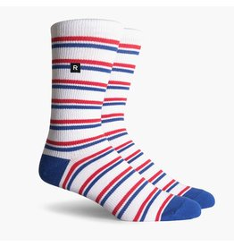 Richer Poorer Richer Poorer- Pastras SS Athletic Crew- Red/White/Blue- Socks