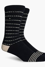 Richer Poorer Richer Poorer-Portside Athletic- Black/Cream-Socks