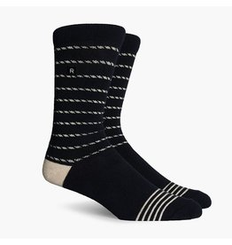 Richer Poorer Richer Poorer-Portside Athletic- Black/Cream-Socks