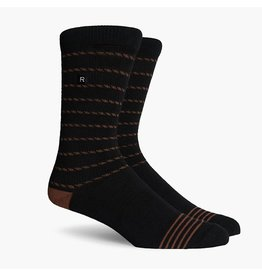 Richer Poorer Richer Poorer-Portside Athletic- Black/Brown-Socks