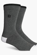 Richer Poorer Richer Poorer-Layback Basic Athletic- Grey- Socks