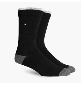 Richer Poorer Richer Poorer-Layback Basic Athletic- Black-Socks