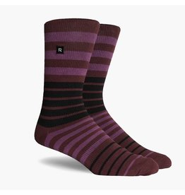 Richer Poorer Richer Poorer-Kingston Athletic- Purple-Socks