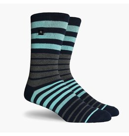 Richer Poorer Richer Poorer-Kingston Athletic- Blue-Socks