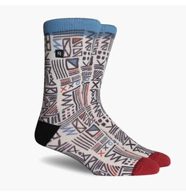 Richer Poorer Richer Poorer-Cipher Athletic- Red/Blue-Socks