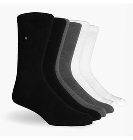 Richer Poorer Richer Poorer-Base Basic Athletic- 3 PK- Multi Color- Socks