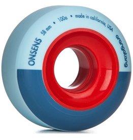 Orangatang Orangatang- Onsens- 58mm- 100a- Blue- Wheel
