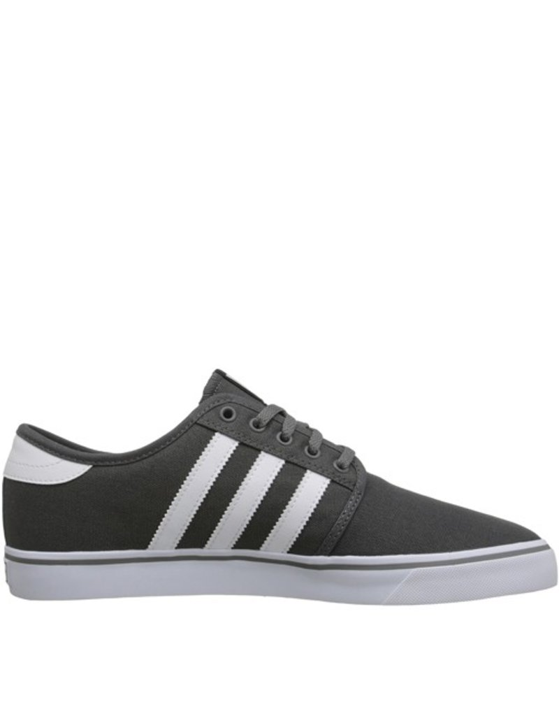 adidas adidas- Seeley- Canvas- Ash and White- Men's- Skate Shoe