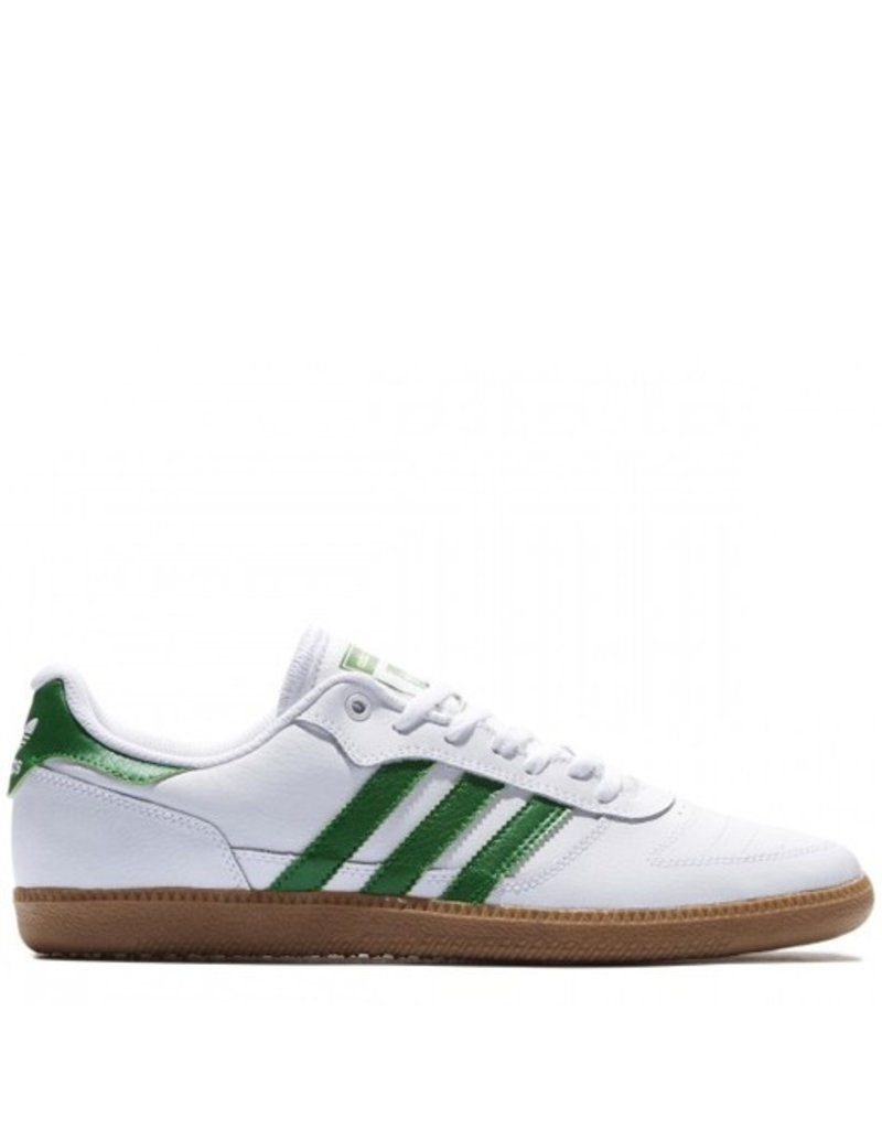 adidas adidas- Copa- Leather- White and Green- Men's- Skate Shoe
