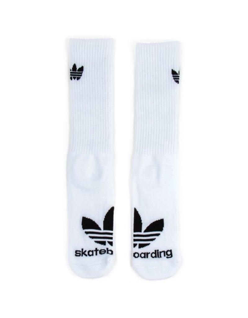 adidas Adidas- Trefoil- 3-Pack- White/Black- Men's- Socks