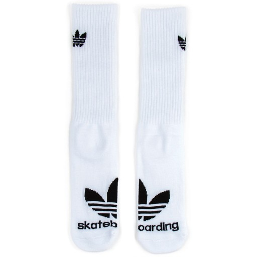 adidas Adidas- Trefoil- 3-Pack- White/Black- Men's- Socks