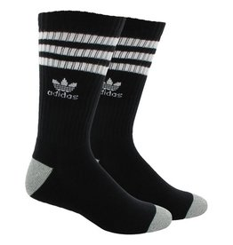 adidas Adidas- Stripes- Black/White- Men's- Socks