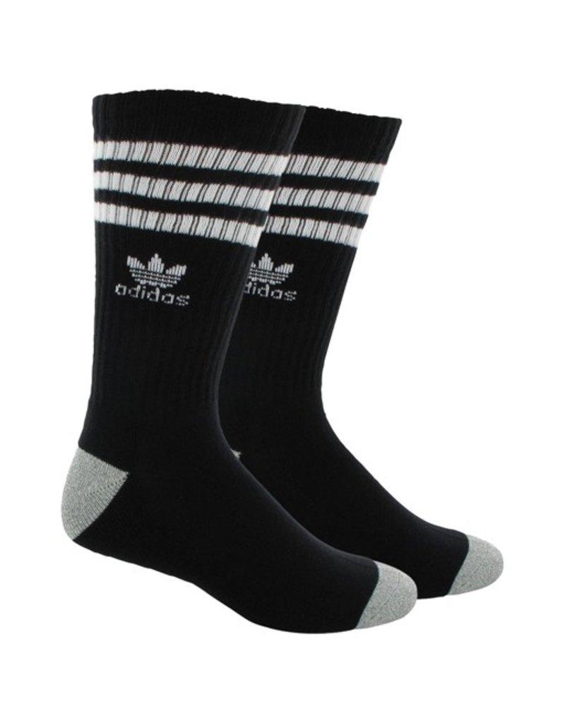adidas Adidas- Stripes- Black/White- Men's- Socks