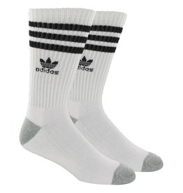 adidas Adidas- Stripes- White/Black- Men's- Socks