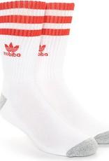 adidas Adidas- Stripes- White/Red- Men's- Socks
