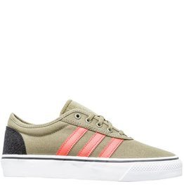 adidas Adidas- Adi-Ease- Olive and Orange- Men's- Skate Shoe