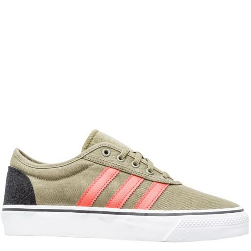 adidas Adidas- Adi-Ease- Olive and Orange- Men's- Skate Shoe