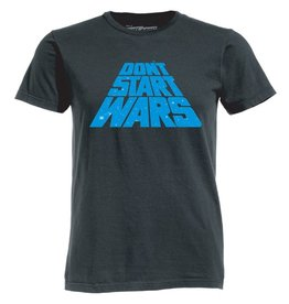 Ames Bros Ames Bros- Dont' Start Wars- Vintage Black- T-Shirt