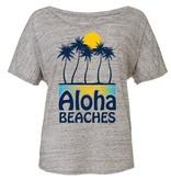 Ames Bros Ames Bros- Aloha- Flowy Simple- Athletic Heather- Women's T-Shirt