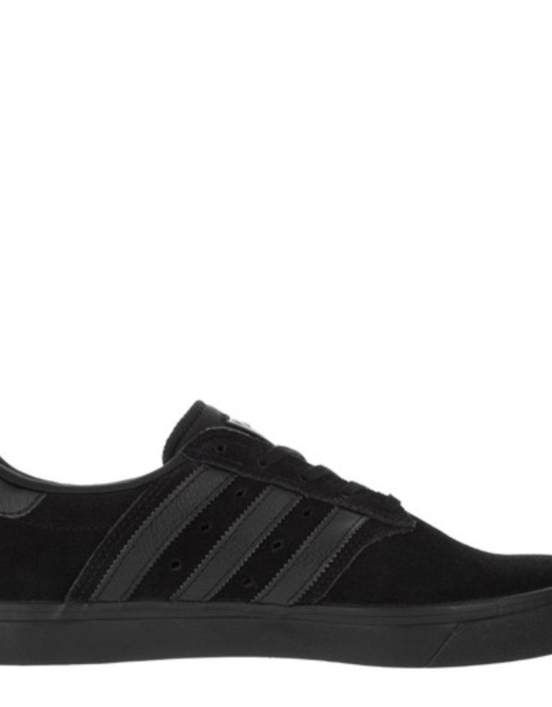 adidas adidas- Seeley- Premiere- Black and Black- Men's- Skate Shoe