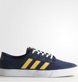 adidas adidas- Kiel- Canvas- Collegiate Navy and Spryel- Men's- Skate Shoe