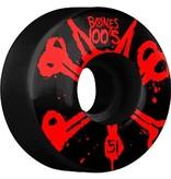 Bones Bones- Original Formula- 51mm- 100a- Black with Red- Wheels