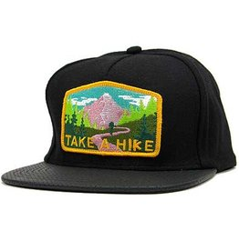 Skate Mental Skate Mental- Take a Hike- Black Canvas- Hats